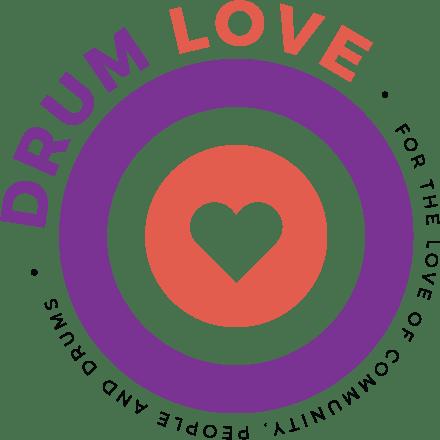 Drum Love Circle San Serif